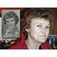 Description: Obituary Mabel Leaf
